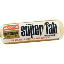 Wooster R242 9 Super/Fab 1 Nap Roller Cover, Package Of 12