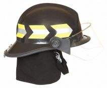White Fire Helmet, Shell Material: Fiberglass, Yes Suspension, Fits Hat Size: 6-1/2 to 9
